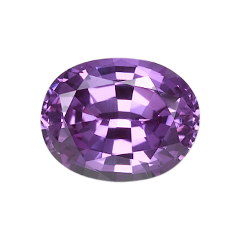 Purple Oval