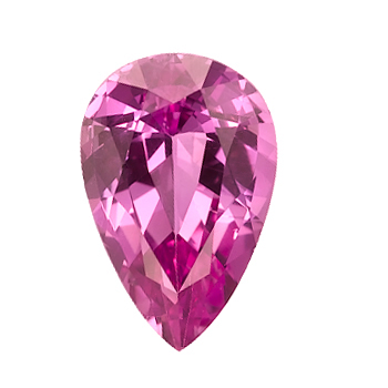 Pink Pear Shape