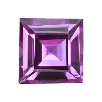Purple Square (step cut)
