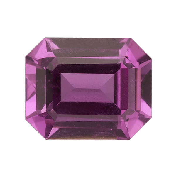 Purple Emerald Cut