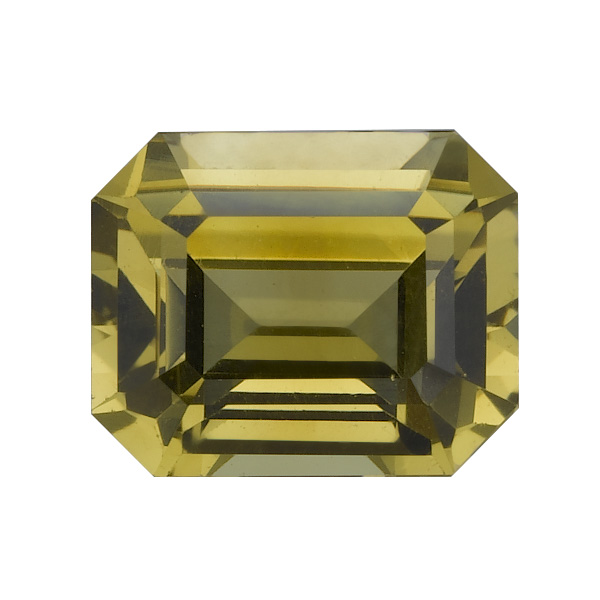 Yellow Emerald Cut