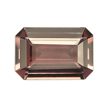 Red Emerald Cut